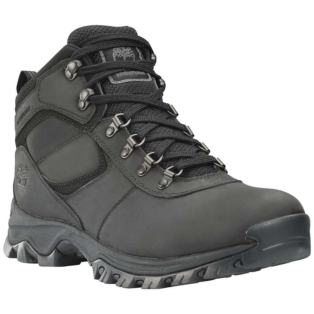 ティンバーランド Timberland メンズ ブーツ シューズ・靴【mt. maddsen mid waterproof boot】Black Full-Grain