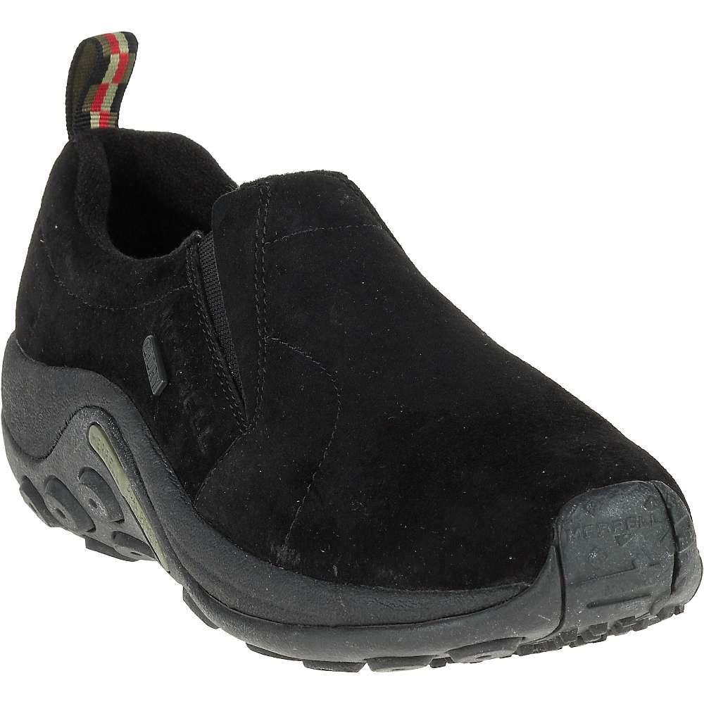 メレル Merrell メンズ スリッポン・フラット シューズ・靴【jungle moc waterproof shoe】Black