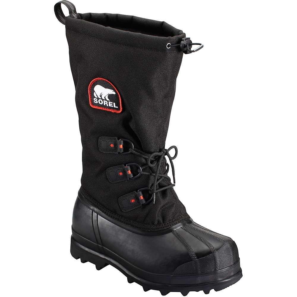 ソレル Sorel メンズ ブーツ シューズ・靴【glacier xt boot】Black/Red Quar