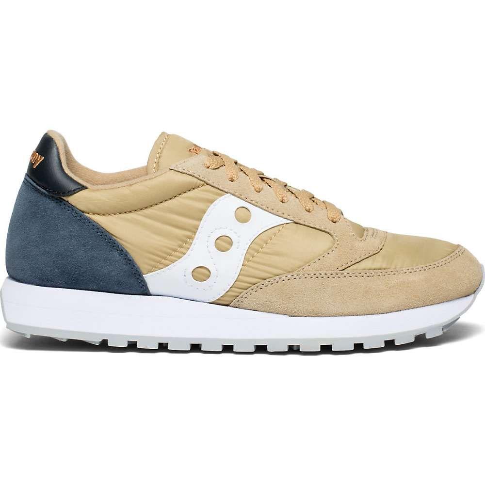 サッカニー Saucony メンズ シューズ・靴 【jazz original shoe】Tan/Navy