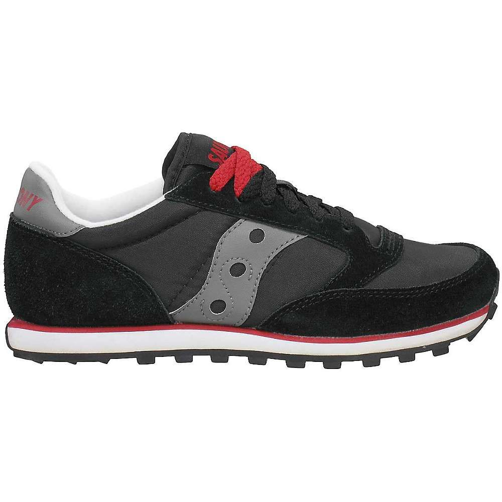 サッカニー Saucony メンズ シューズ・靴 【jazz low pro shoe】Black/Dark Grey/Red