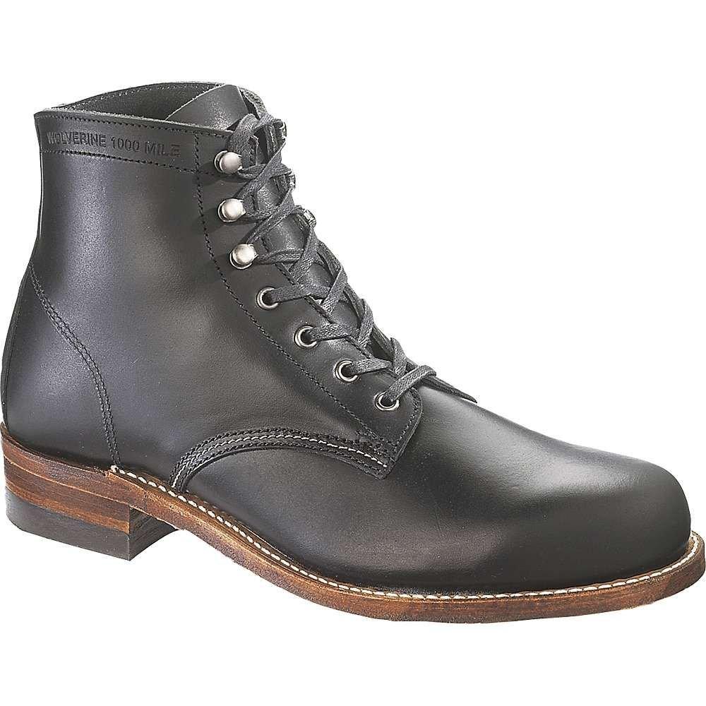 <title>ウルヴァリン メンズ シューズ 靴 ブーツ Black 在庫一掃 サイズ交換無料 Wolverine 1000 Mile Boot</title>