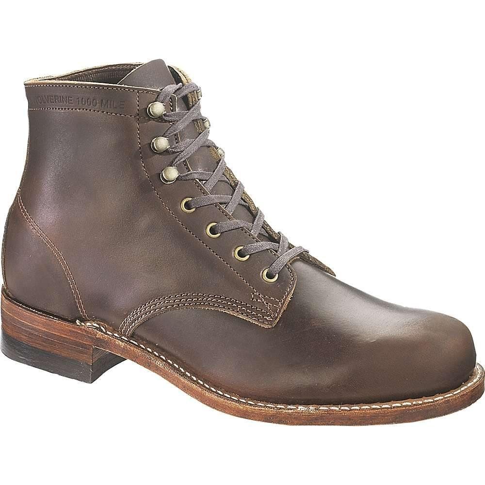 ウルヴァリン Wolverine メンズ ブーツ シューズ・靴【1000 mile boot】Brown