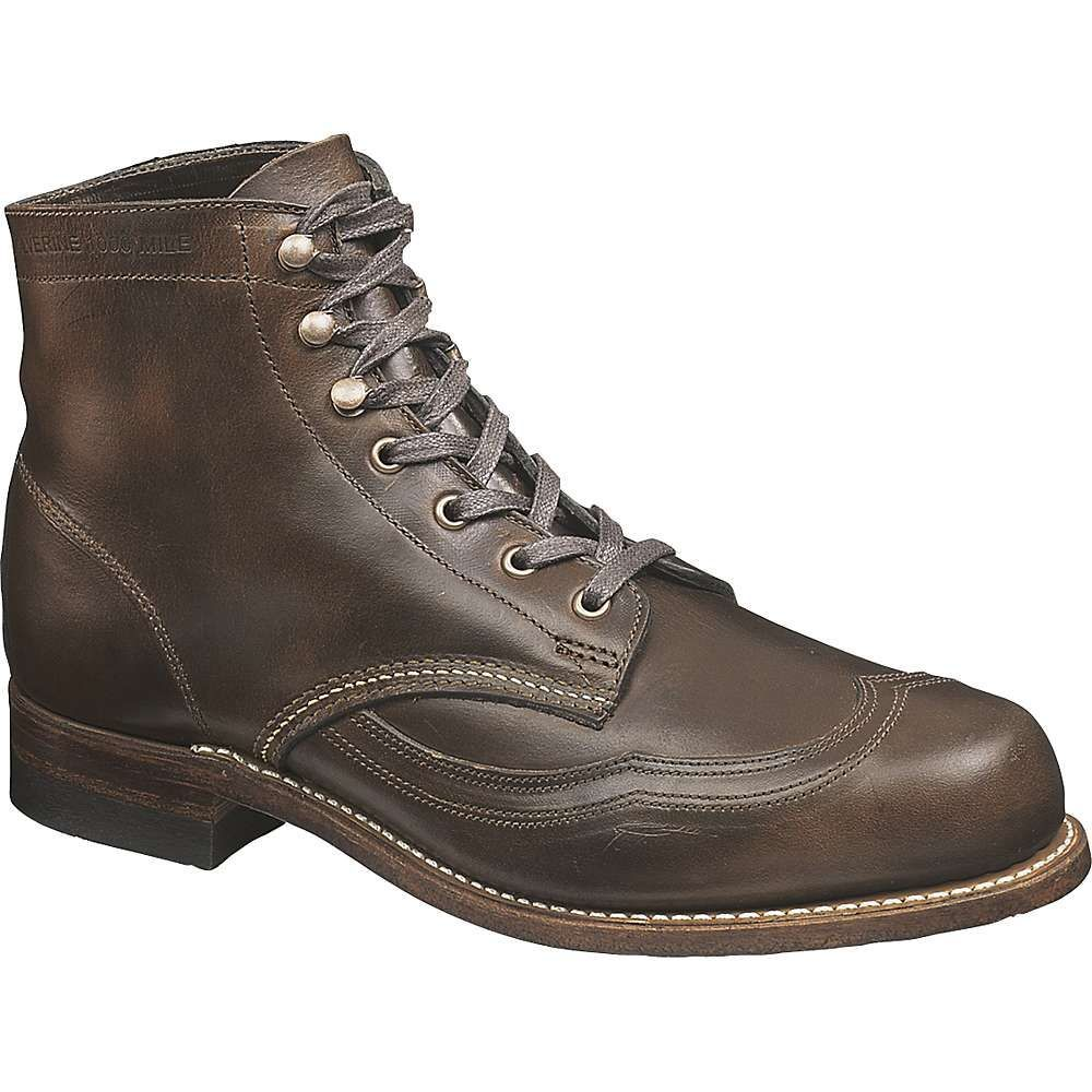 ウルヴァリン Wolverine メンズ ブーツ シューズ・靴【addison 1000 mile wing-tip boot】Brown