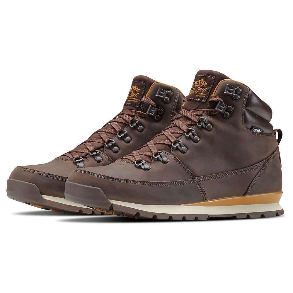 ザ ノースフェイス The North Face メンズ ブーツ シューズ・靴【back-to-berkeley redux leather boot】Chocolate Brown/Golden Brown