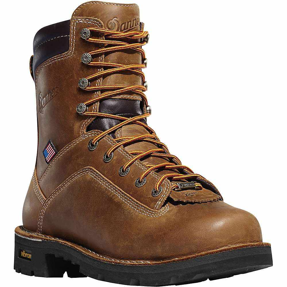 ダナー Danner メンズ ブーツ シューズ・靴【quarry usa 8in gtx at boot】Distressed Brown