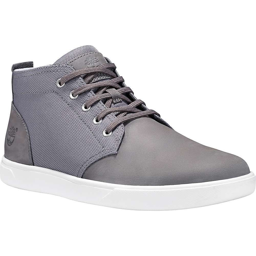 ティンバーランド Timberland メンズ ブーツ チャッカブーツ シューズ・靴【groveton lace to toe chukka】Medium Grey Nubuck