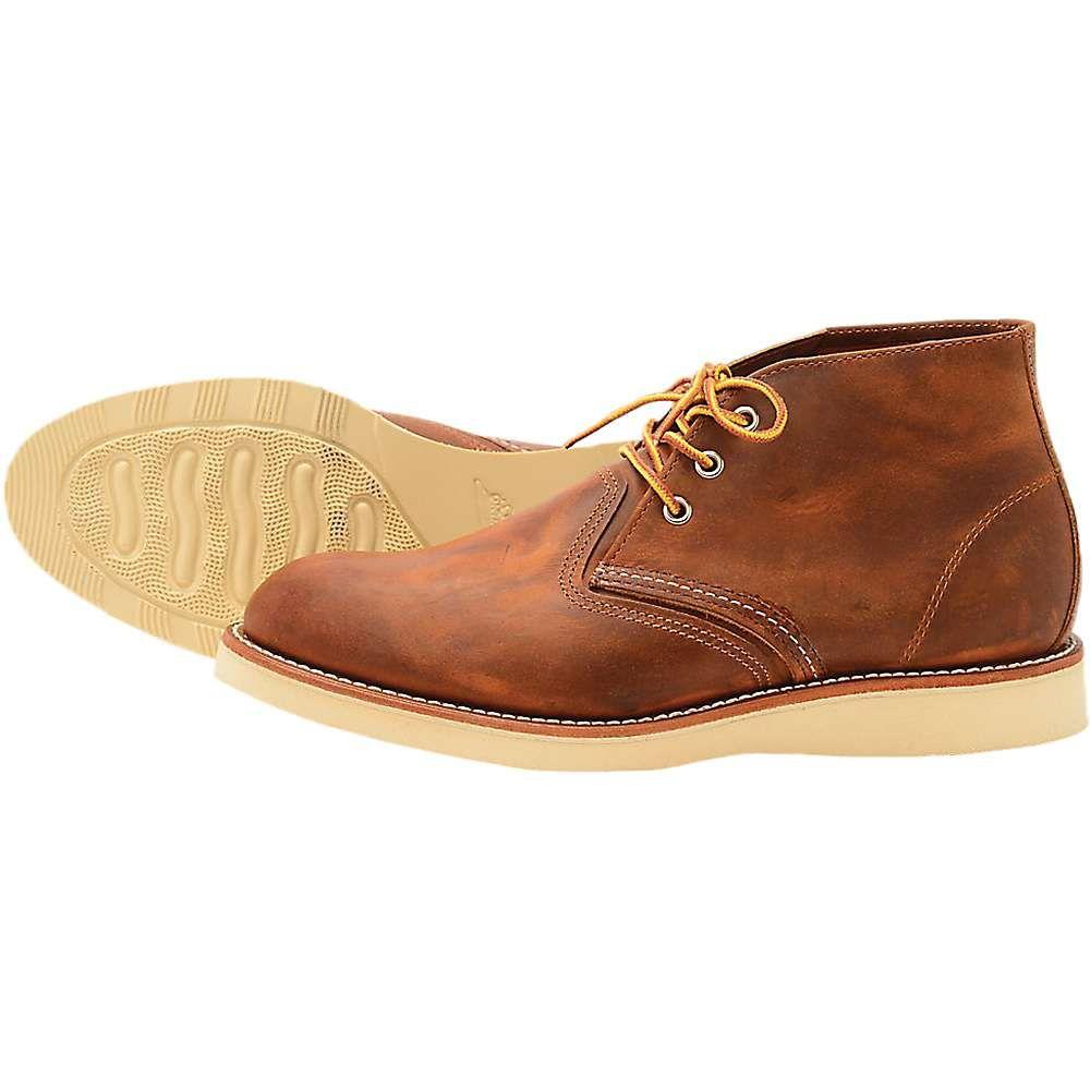 レッドウィング Red Wing Shoes メンズ ブーツ チャッカブーツ シューズ・靴【red wing heritage 3137 work chukka】Copper Rough and Tough