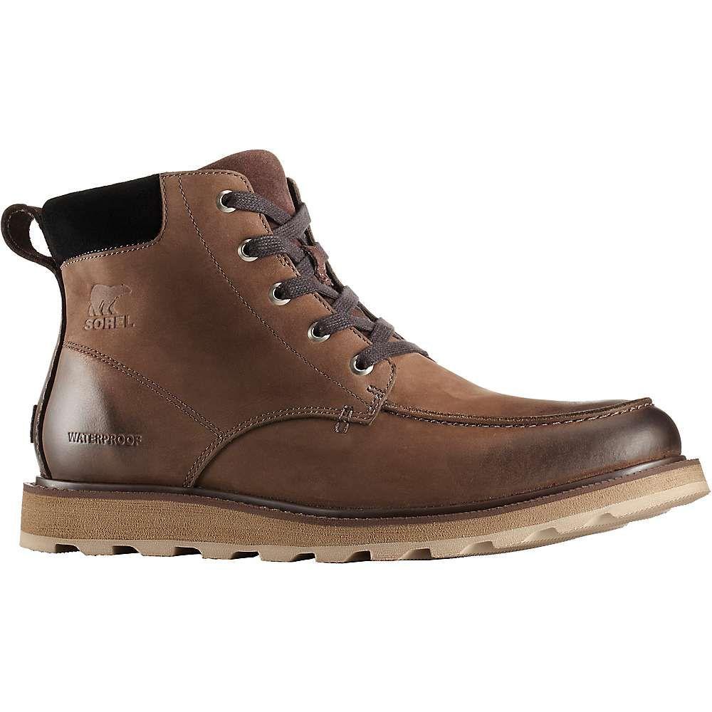 ソレル Sorel メンズ ブーツ モックトゥ シューズ・靴【madson moc toe waterproof boot】Bruno/Black