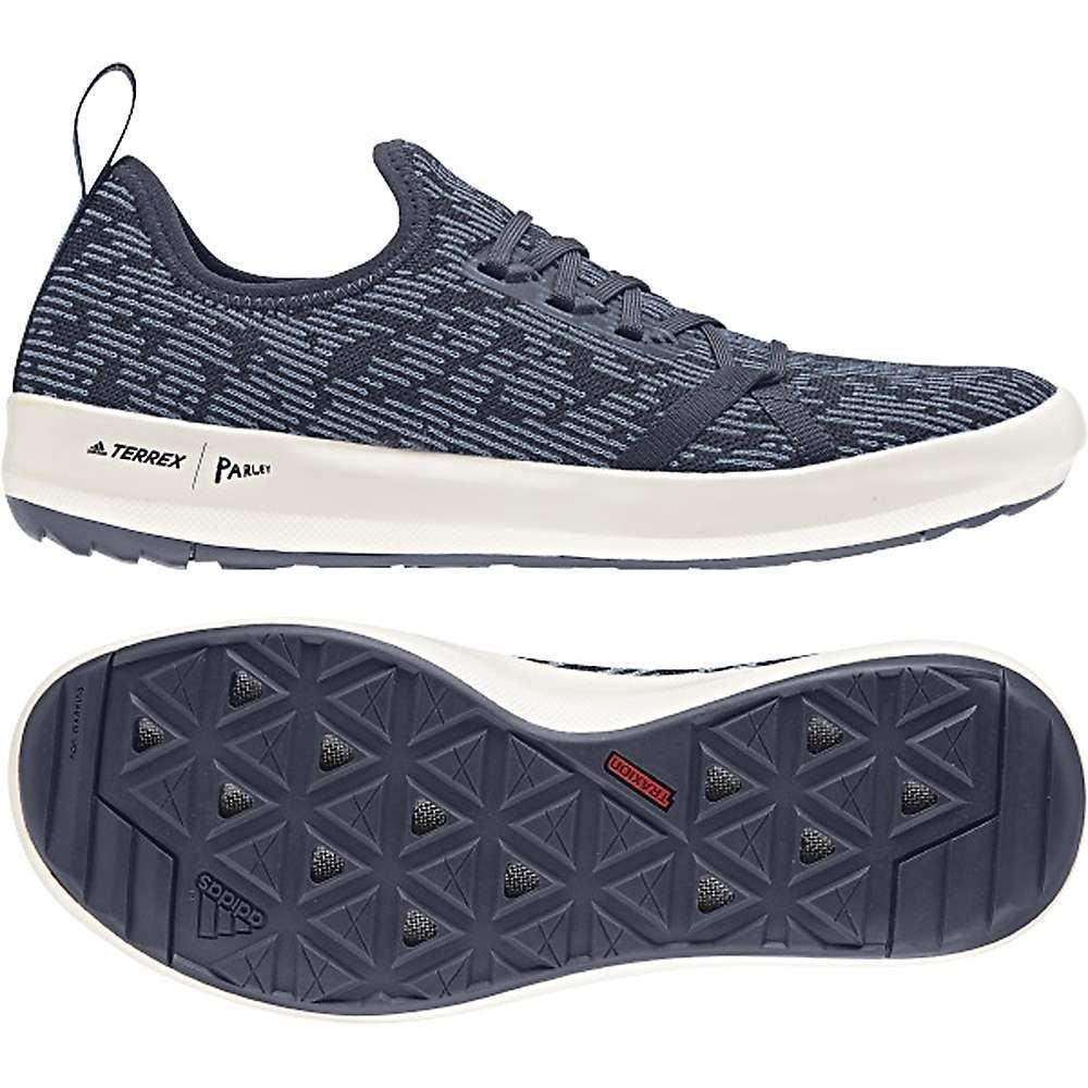 アディダス Adidas メンズ デッキシューズ デッキシューズ シューズ・靴【terrex cc boat parley shoe】Trace Blue/Raw Grey/Chalk White