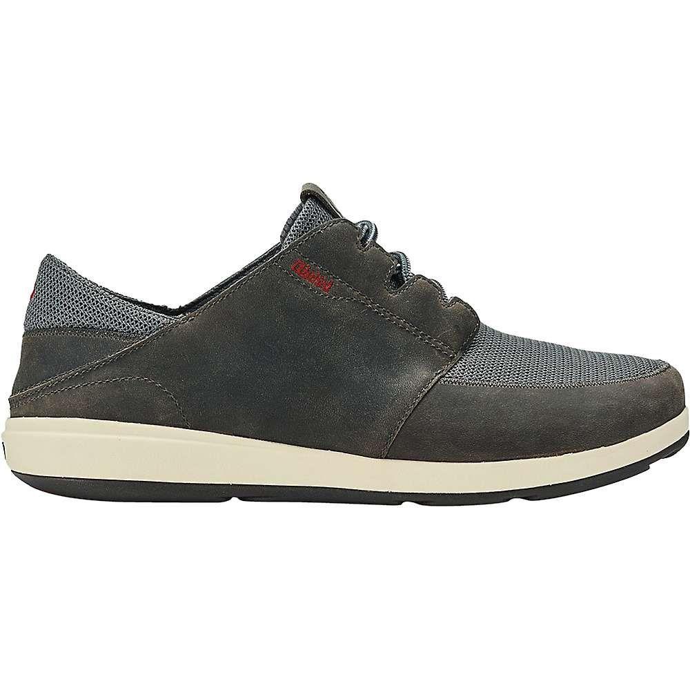 オルカイ OluKai メンズ シューズ・靴 【makia lace shoe】Charcoal/Charcoal