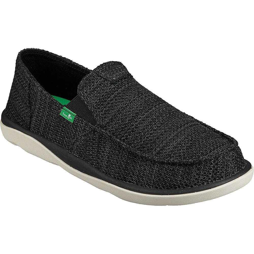 サヌーク Sanuk メンズ シューズ・靴 【vagabond tripper mesh shoe】Black