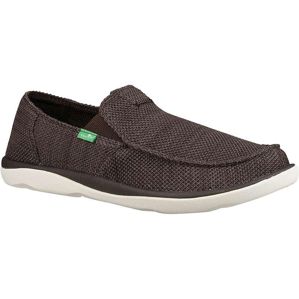 サヌーク Sanuk メンズ シューズ・靴 【vagabond tripper mesh shoe】Brown