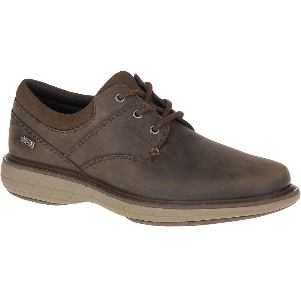 メレル Merrell メンズ シューズ・靴 【world vue lace waterproof shoe】Black Slate