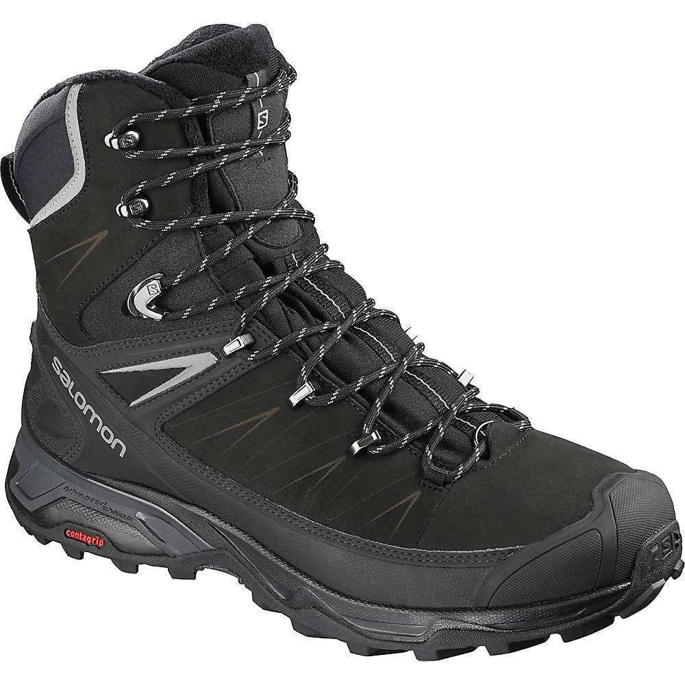 サロモン Salomon メンズ ブーツ シューズ・靴【x ultra winter cs waterproof 2 boot】Black/Phantom/Monument