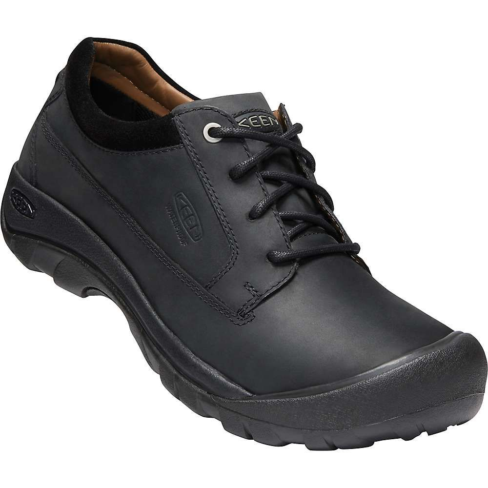 キーン Keen メンズ シューズ・靴 【austin casual waterproof shoe】Black/Raven