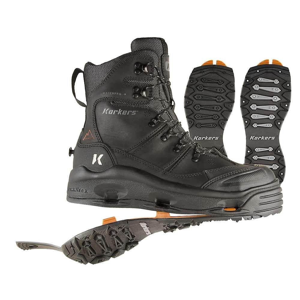 コーカーズ Korkers メンズ ブーツ シューズ・靴【snowjack pro safety boot】Black