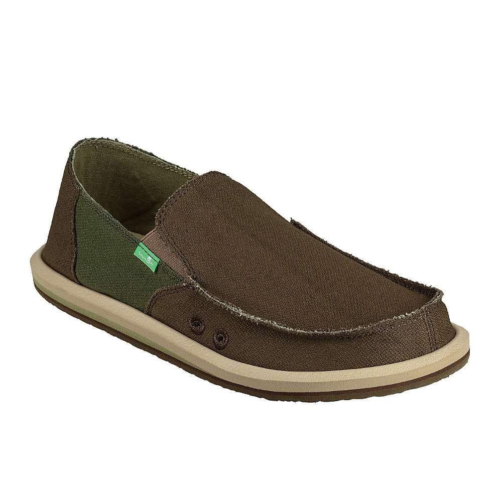 サヌーク Sanuk メンズ シューズ・靴 【vagabond hemp shoe】Dark Olive/Green