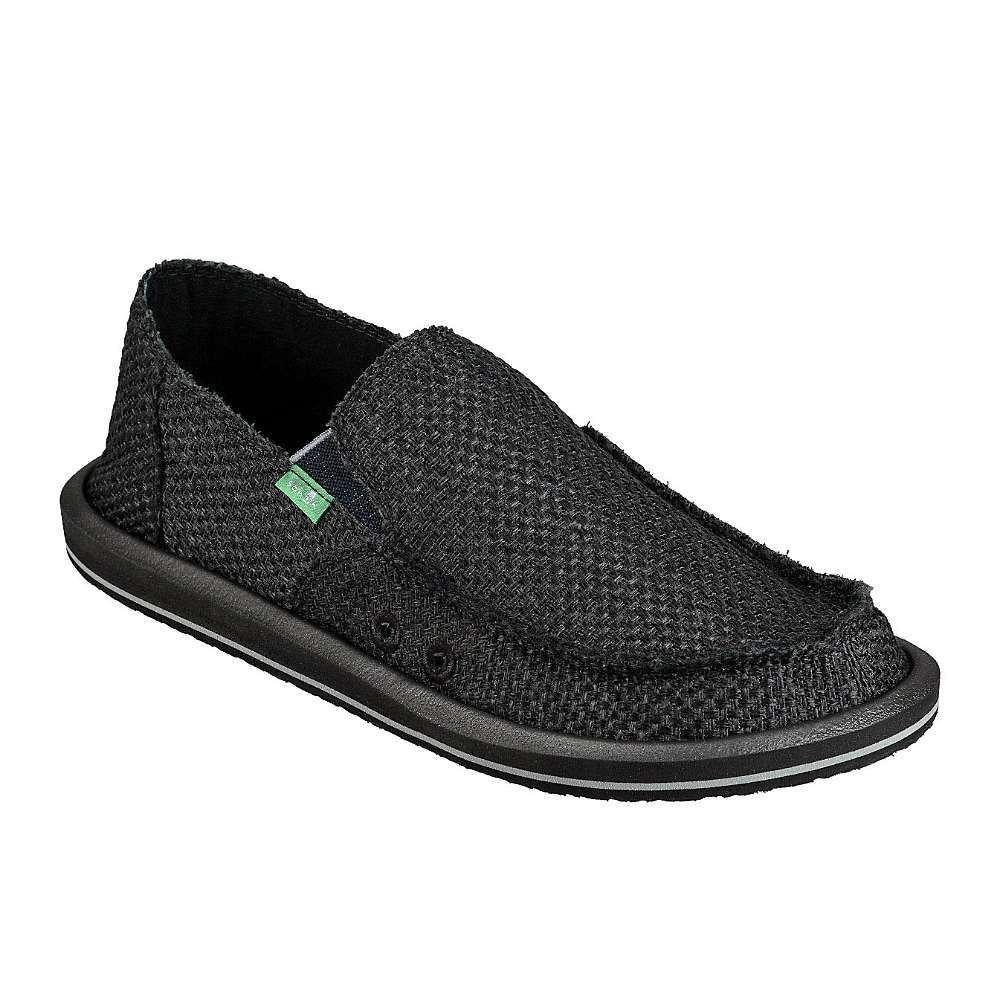 サヌーク Sanuk メンズ シューズ・靴 【vagabond woven shoe】Black