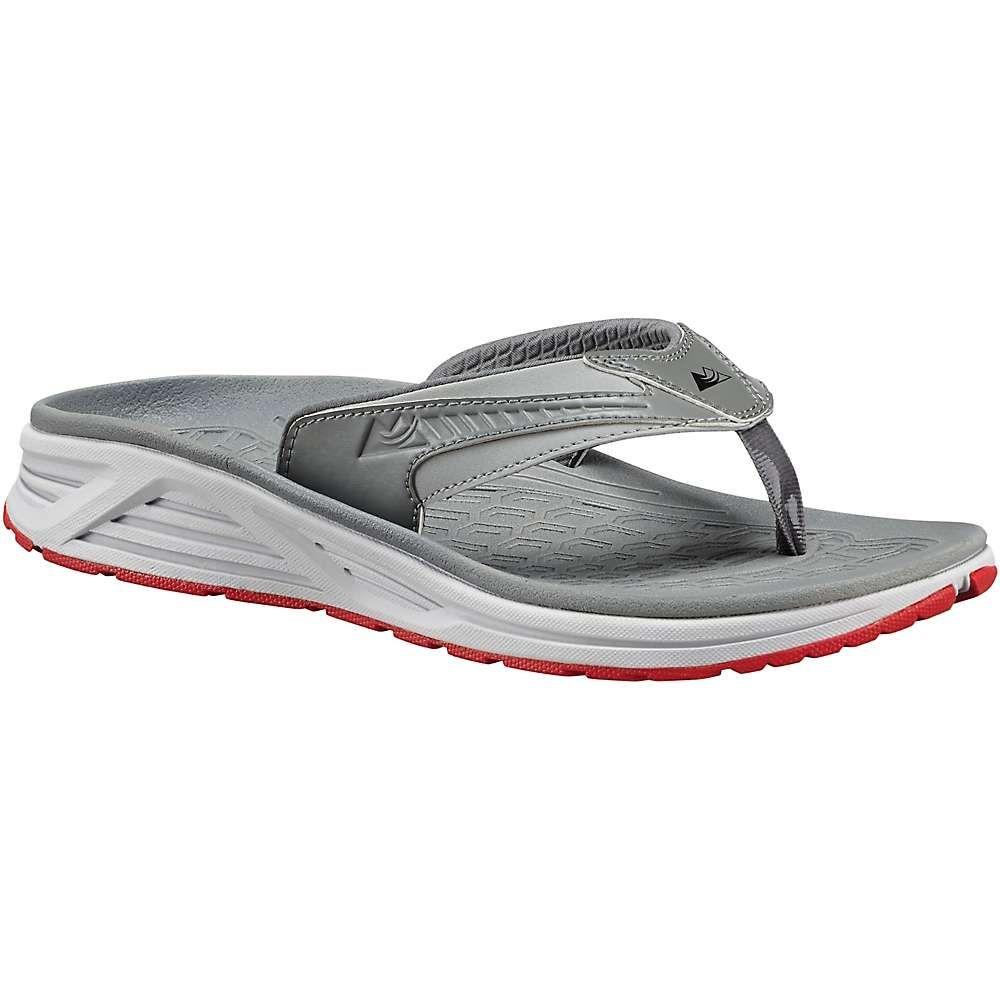 コロンビア Columbia Footwear メンズ ビーチサンダル シューズ・靴【columbia molokai iii sandal】Monument/Bright Red