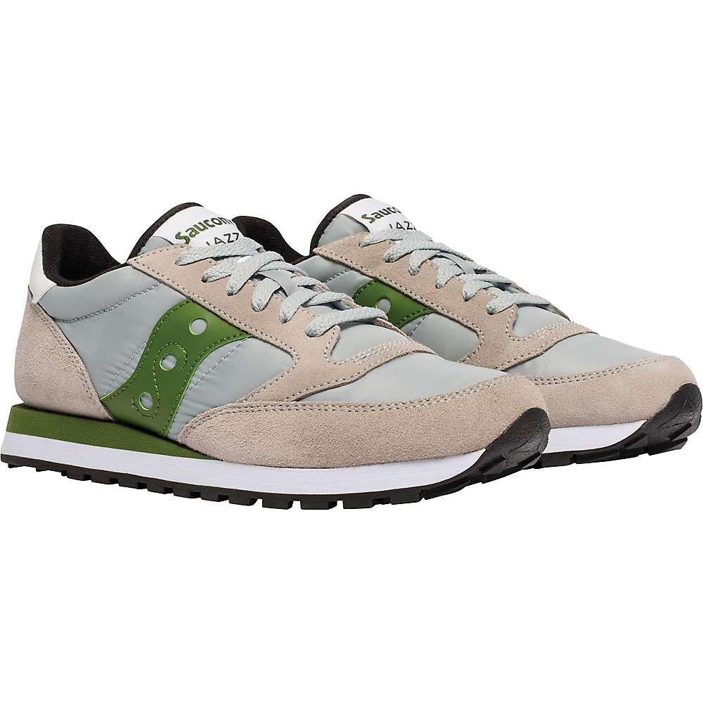 サッカニー Saucony メンズ シューズ・靴 【jazz original shoe】Grey/Green