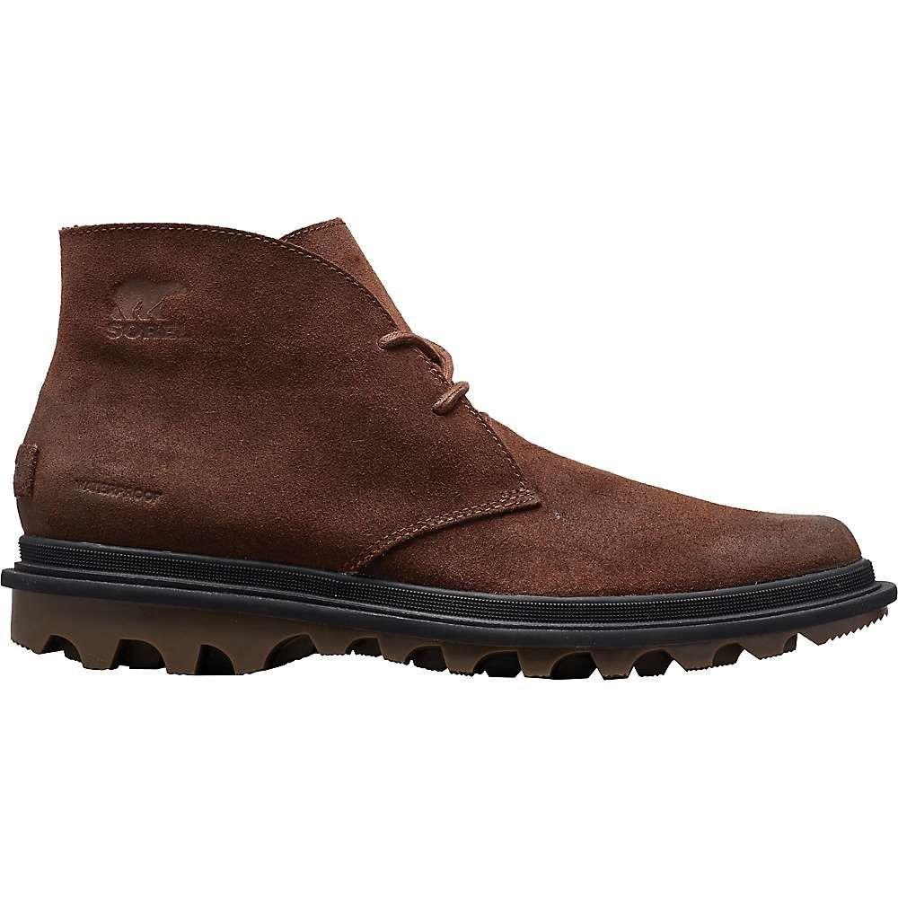 ソレル Sorel メンズ ブーツ チャッカブーツ シューズ・靴【ace chukka waterproof boot】Tobacco/Elk