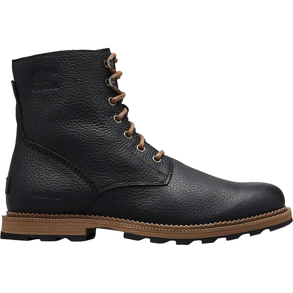 ソレル Sorel メンズ ブーツ シューズ・靴【madson 6' waterproof boot】Black/Ancient Fossil