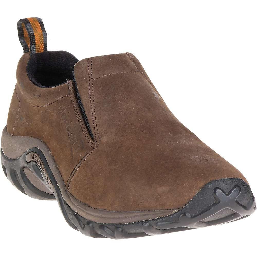 メレル Merrell メンズ スリッポン・フラット シューズ・靴【jungle moc nubuck shoe】Brown
