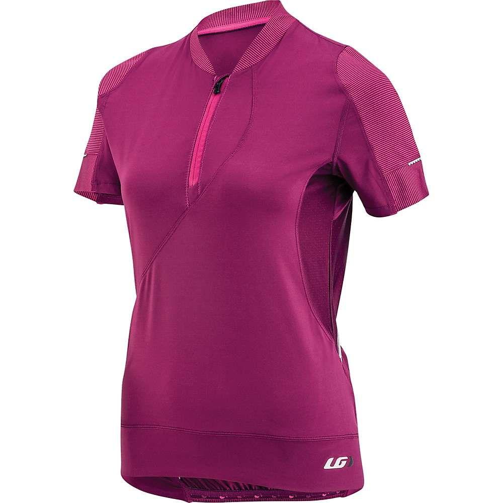 ルイガノ Louis Garneau レディース フィットネス・トレーニング トップス【gloria jersey】Magenta Purple