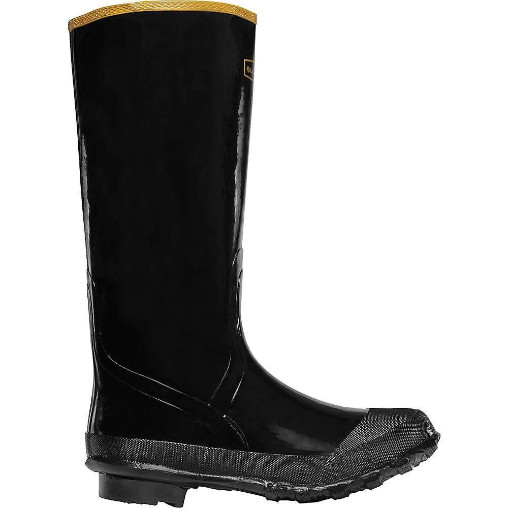 ラクロッセ Lacrosse メンズ レインシューズ・長靴 ロングブーツ シューズ・靴【economy 16in knee boot】Black
