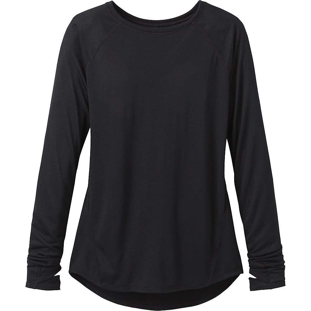 プラーナ Prana レディース フィットネス・トレーニング Tシャツ トップス【iselle ls tee】Black