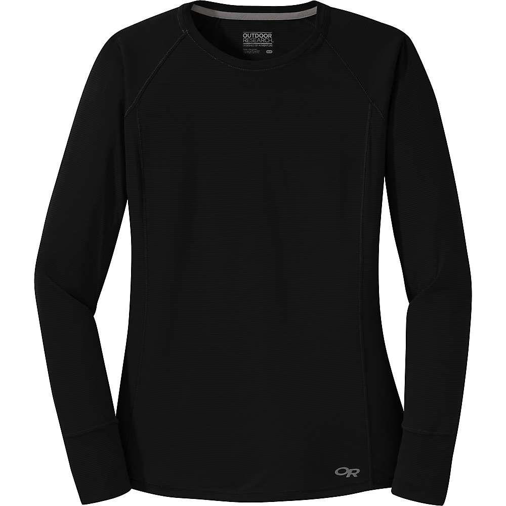 アウトドアリサーチ Outdoor Research レディース フィットネス・トレーニング Tシャツ トップス【echo ls tee】Black