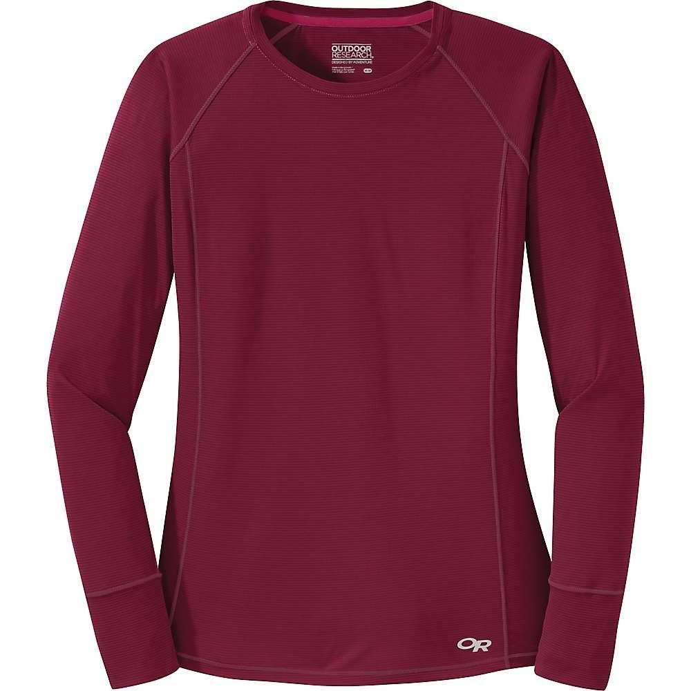 アウトドアリサーチ Outdoor Research レディース フィットネス・トレーニング Tシャツ トップス【echo ls tee】Garnet