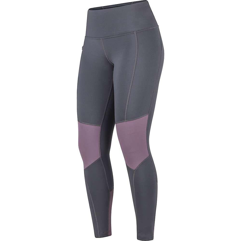 マーモット Marmot レディース フィットネス・トレーニング タイツ・スパッツ スパッツ・レギンス ボトムス・パンツ【trail bender tight】Dark Steel/Vintage Violet