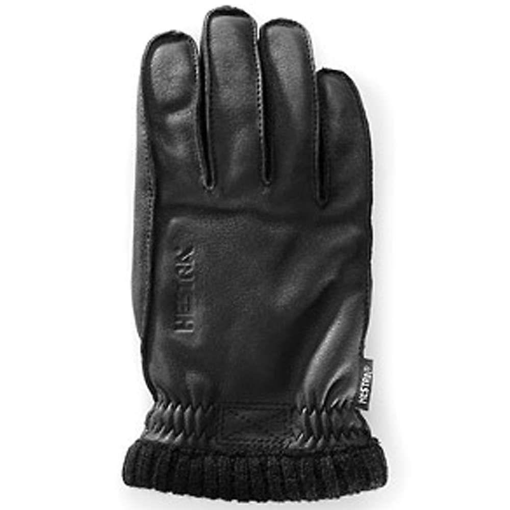 ヘスタ Hestra メンズ スキー・スノーボード グローブ【deerskin primaloft ribbed glove】Black