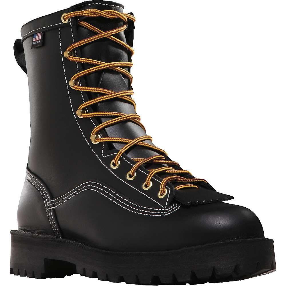 ダナー Danner メンズ レインシューズ・長靴 シューズ・靴【super rain forest 200g insulated 8in gtx boot】Black