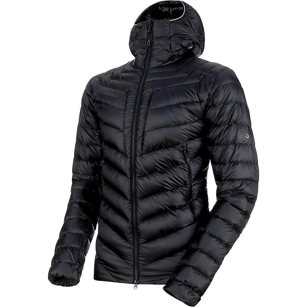 マムート Mammut メンズ スキー・スノーボード フード ジャケット アウター【broad peak in hooded jacket】Black/Phantom