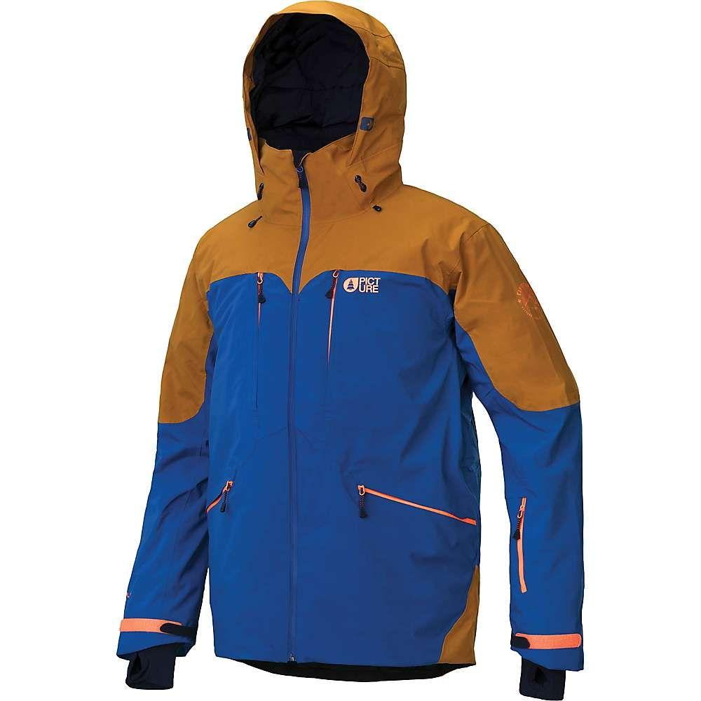 ピクチャー メンズ スキー・スノーボード アウター Petrol Blue 【サイズ交換無料】 ピクチャー Picture メンズ スキー・スノーボード ジャケット アウター【naikoon jacket】Petrol Blue
