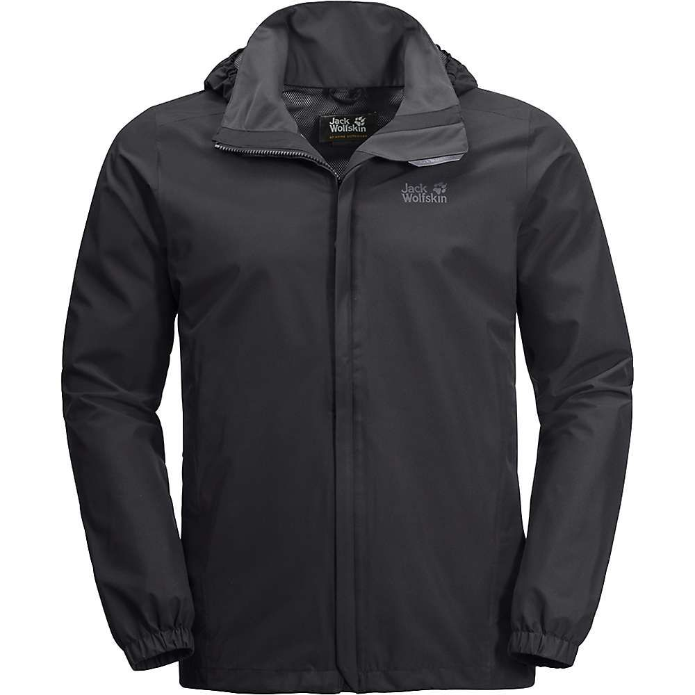 ジャックウルフスキン Jack Wolfskin メンズ スキー・スノーボード ジャケット アウター【stormy point jacket】Black