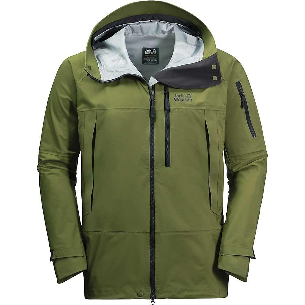 ジャックウルフスキン Jack Wolfskin メンズ スキー・スノーボード ジャケット アウター【the humboldt jacket】Cypress Green