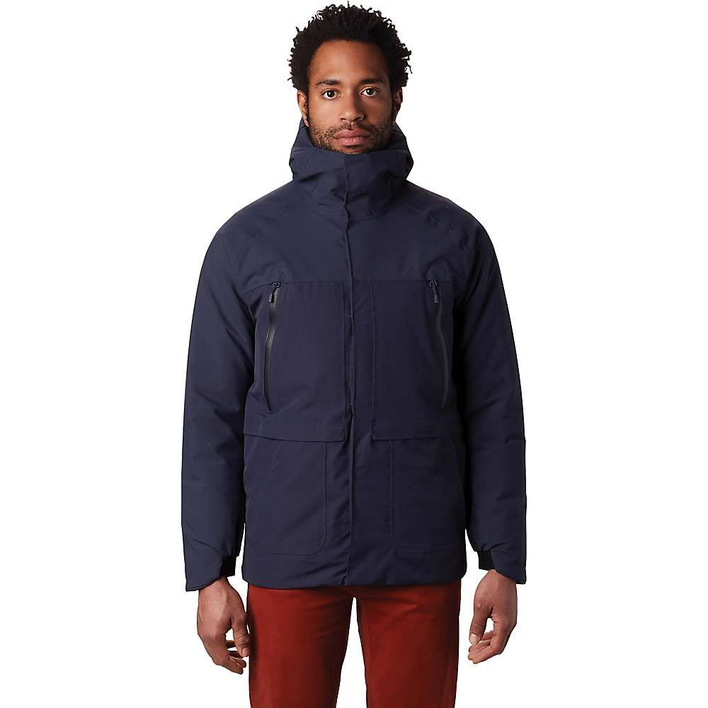 マウンテンハードウェア Mountain Hardwear メンズ スキー・スノーボード ジャケット アウター【summit shadow gtx insulated jacket】Dark Zinc
