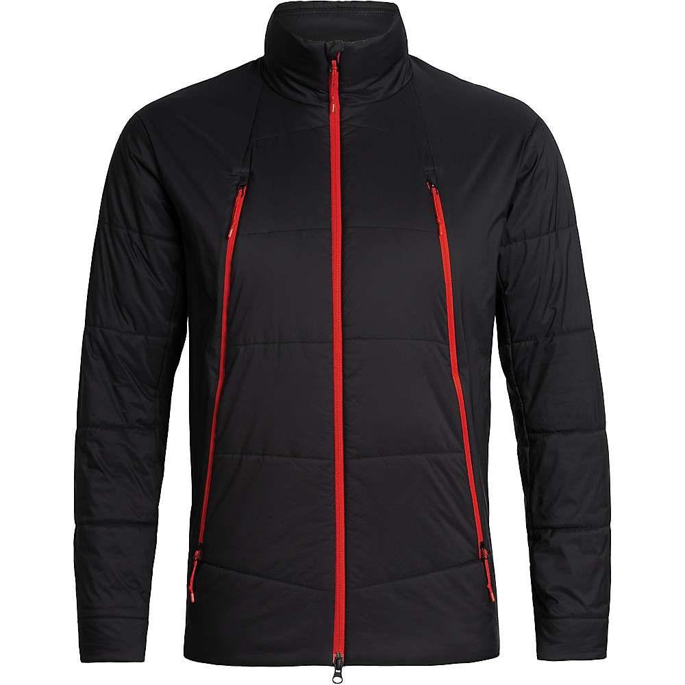 アイスブレーカー Icebreaker メンズ スキー・スノーボード ジャケット アウター【hyperia zoned jacket】Black