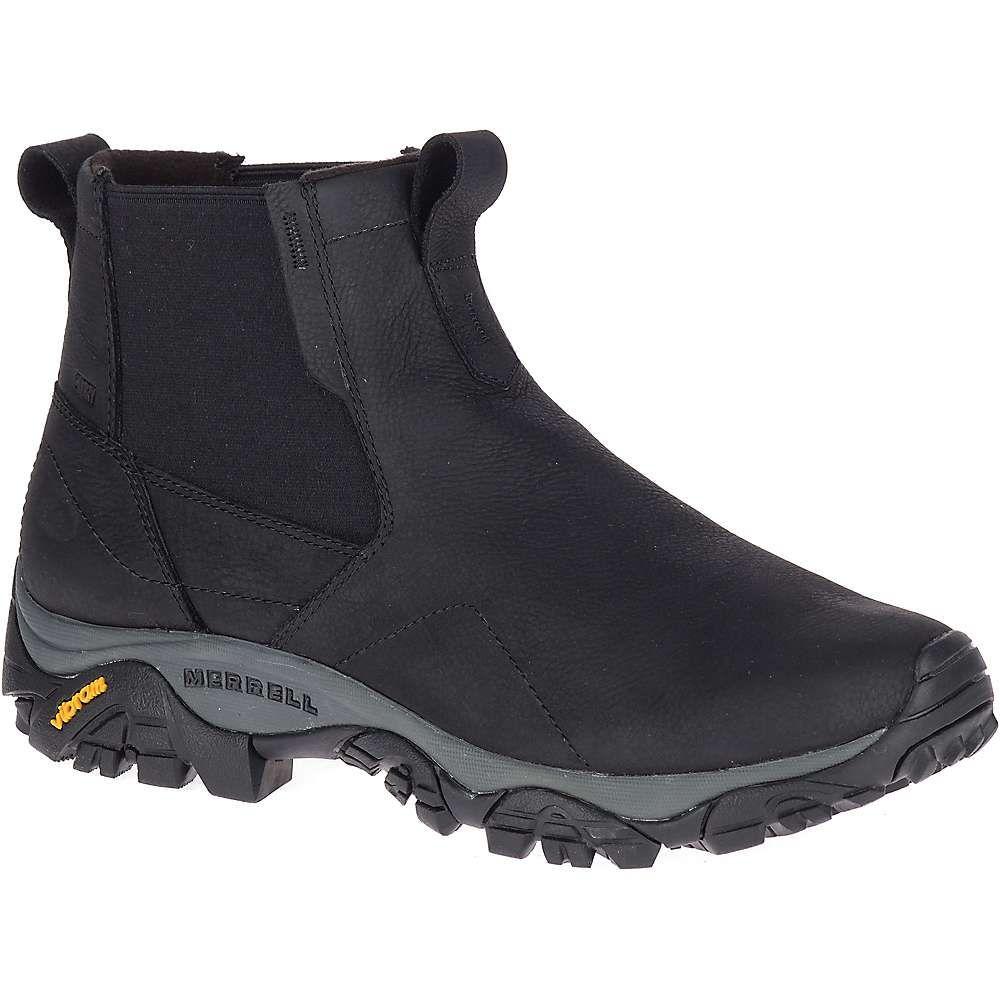 メレル Merrell メンズ ブーツ シューズ・靴【moab adventure chelsea polar waterproof shoe】Black