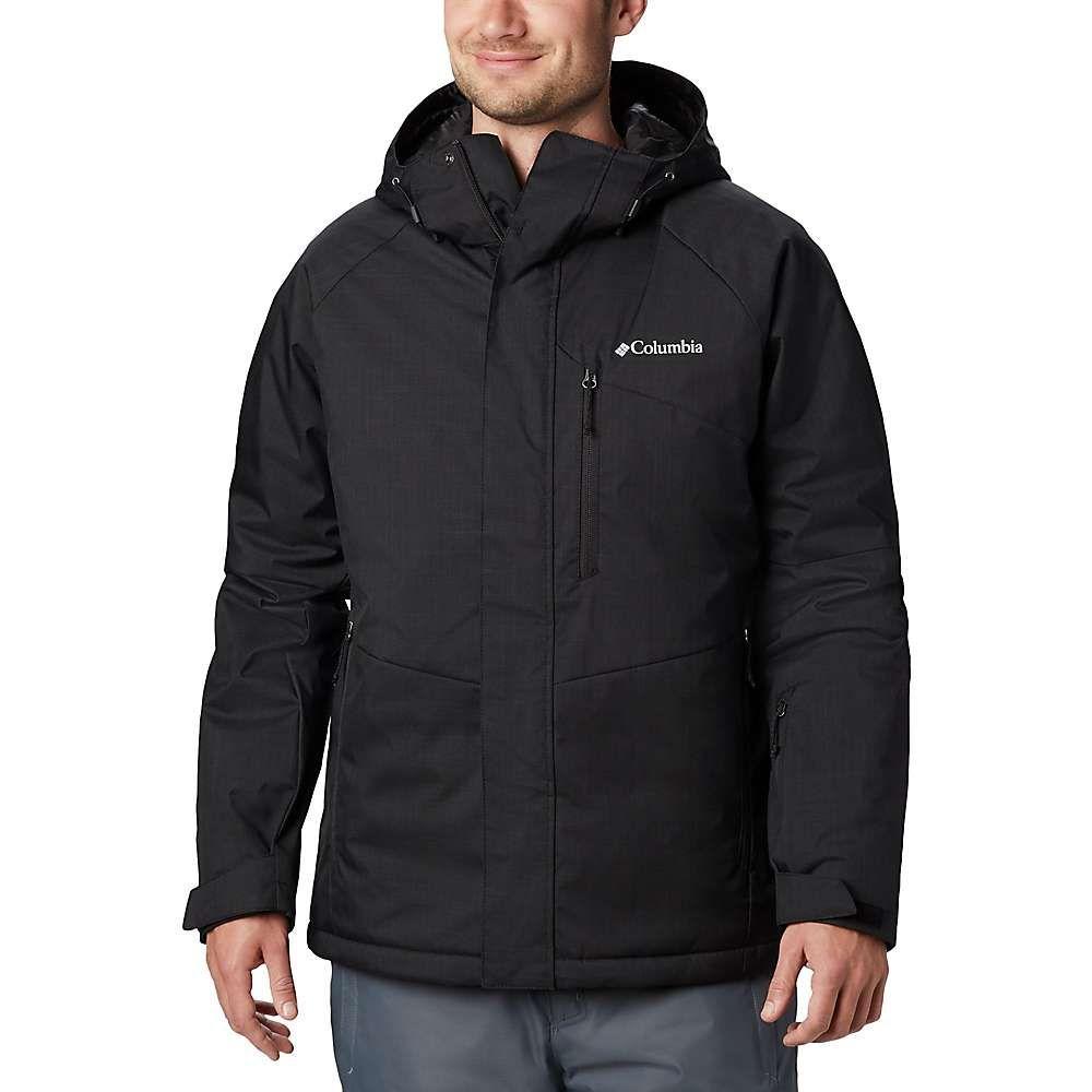 コロンビア Columbia メンズ スキー・スノーボード ジャケット アウター【chuterunner ii jacket】Black Heather