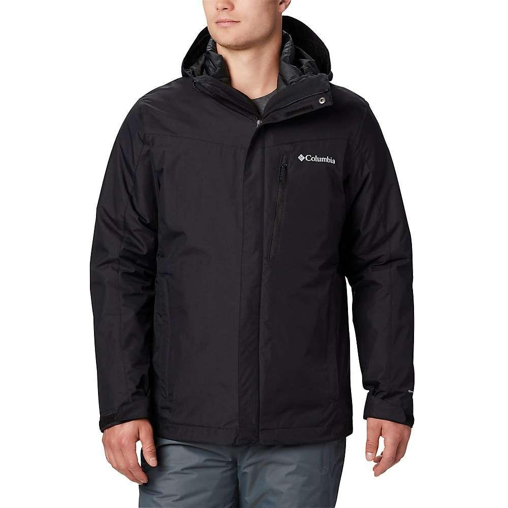 コロンビア Columbia メンズ スキー・スノーボード ジャケット アウター【whirlibird iv interchange jacket】Black