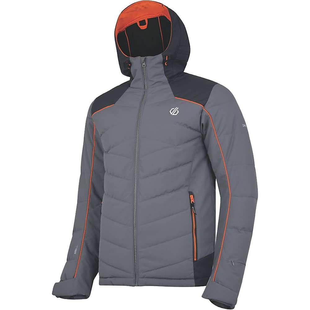デア トゥビー メンズ スキー・スノーボード アウター Aluminium Grey/Ebony Grey 【サイズ交換無料】 デア トゥビー Dare 2B メンズ スキー・スノーボード ジャケット アウター【maxim jacket】Aluminium Grey/Ebony Grey