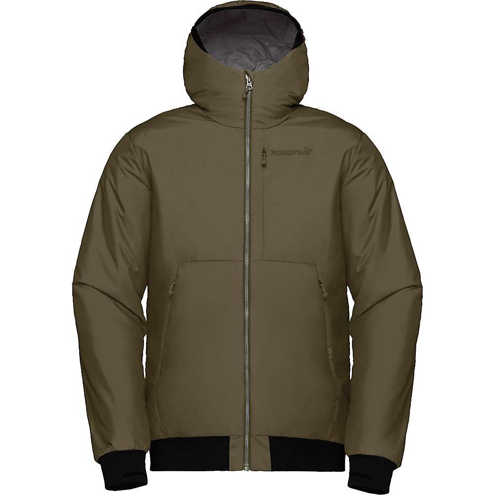 ノローナ Norrona メンズ スキー・スノーボード フード ジャケット アウター【roldal insulated hooded jacket】Olive Night