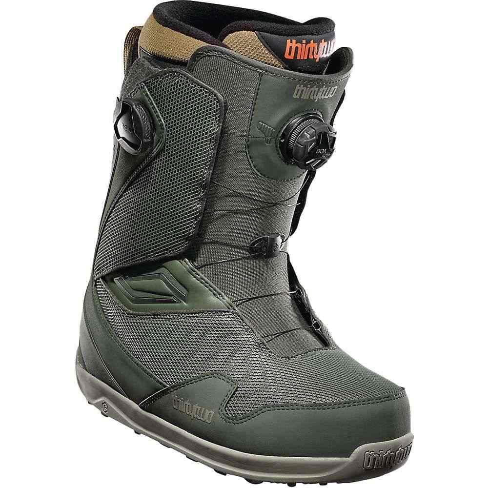サーティーツー Thirty Two メンズ スキー・スノーボード ブーツ シューズ・靴【tm-2 double boa snowboard boot】Green