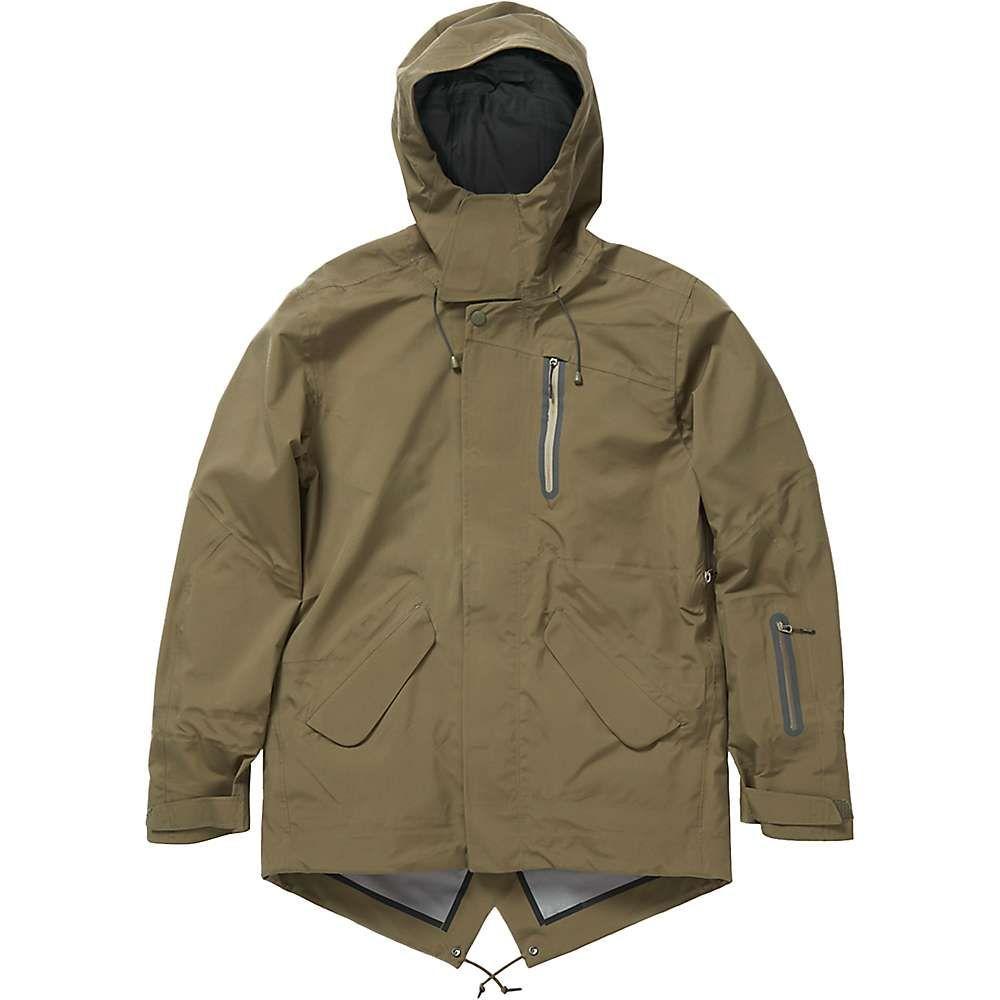 ホールデン Holden メンズ スキー・スノーボード モッズコート ジャケット アウター【m-51 3-layer fishtail jacket】Stone Green