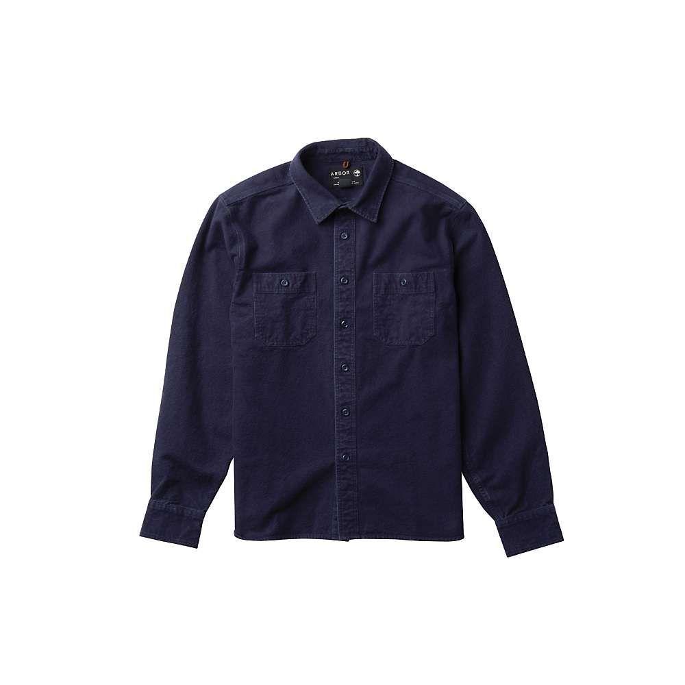 アーバー Arbor メンズ シャツ トップス【foundation chamois shirt】Indigo